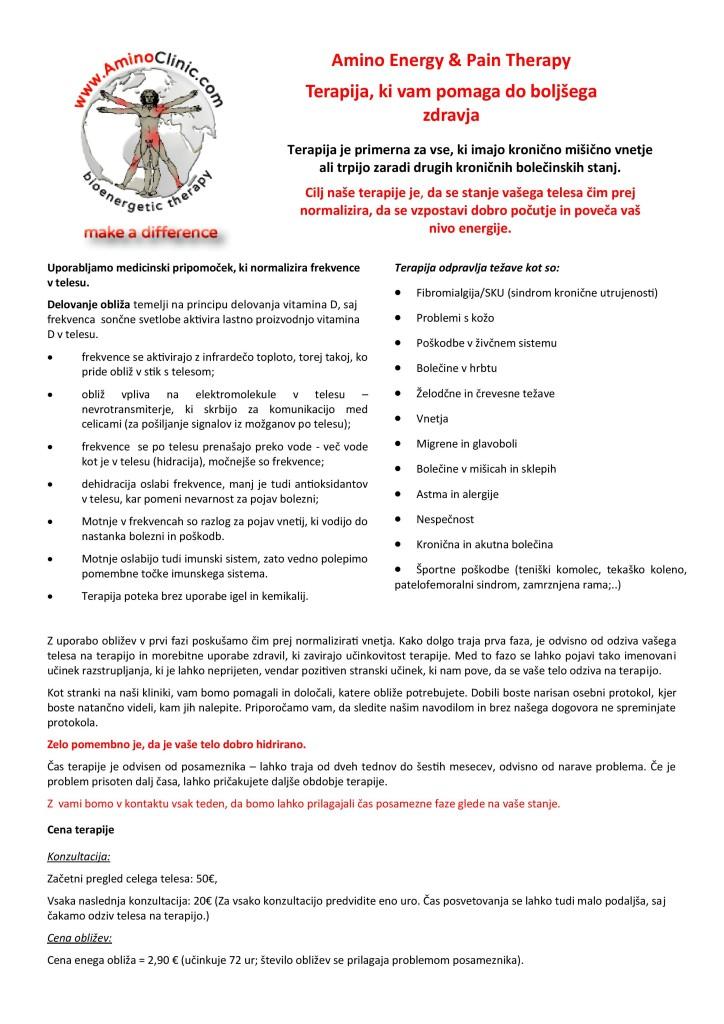 Informacija o Aminoterapiji
